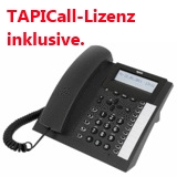TIPTEL 2030 (anthrazit) ISDN / CTI + Anrufbeantworter + TAPICall