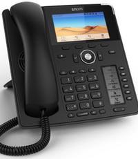 Snom D785 Tischtelefon (anthrazit) Bundle: IP-Telefon inkl. TAPI-Treiber